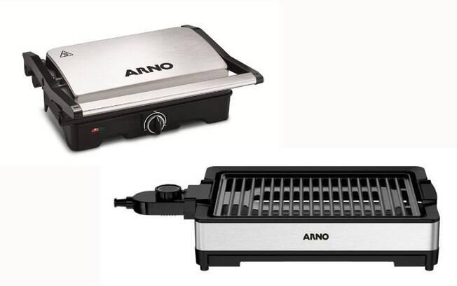 O grill e a churrasqueira elétrica são ótimas opções de presente!