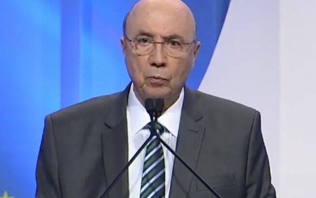 Henrique Meirelles alfinetou Bolsonaro e tentou emplacar slogan
