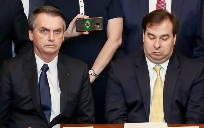 Paulo Guedes reiterou a confiança no  deputado Rodrigo Maia (DEM) para conduzir as negociações da Previdência