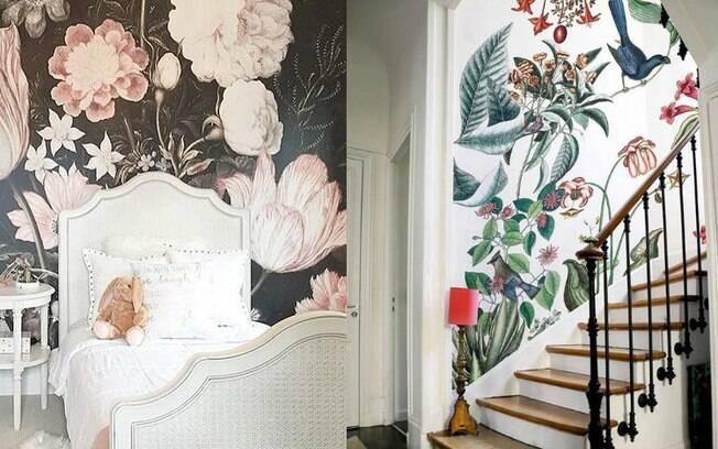 Não tenho medo de ousar! O papel de parede com estampas vibrantes está entre as tendências de decoração para 2019