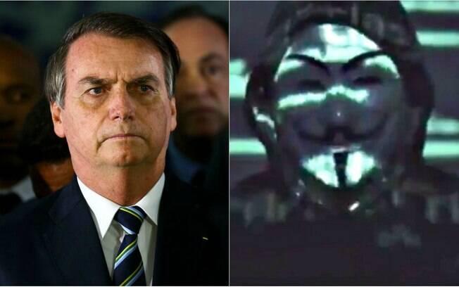 Anonymous Brasil dados de Bolsonaro e familiares