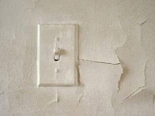 Verifique se não há rachaduras ou fissuras nas paredes