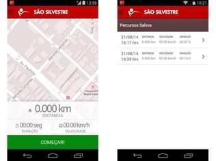 Corrida de São Silvestre ganha aplicativo para atletas amadores e profissionais guardarem seus treinos e se preparem melhor. Disponível para Android e iOS