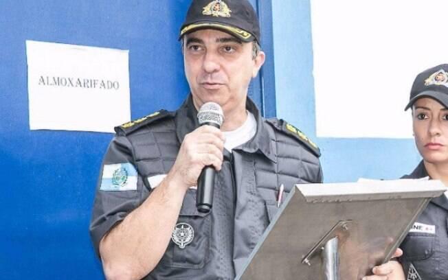Coronel Luiz Gustavo Teixeira da PM do Rio de Janeiro morreu em um atentado a tiros na manhã da última quinta-feira