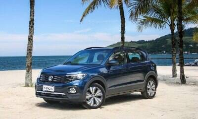 VW T-Cross supera Chevrolet Onix nas vendas de julho; veja