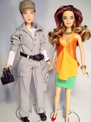 As bonecas foram criadas pelo artista plástico Marcus Baby