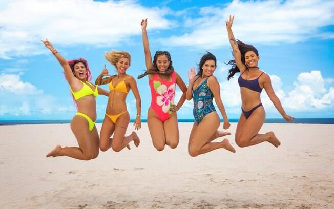 Mayara Cardoso, Mina Winkel, Jéssica Marisol, Flávia Caroline e Bárbara Morais
