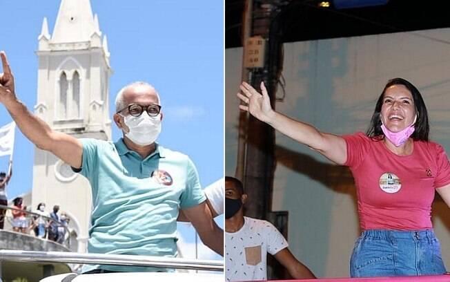 Edvaldo (PDT) e Delegada Danielle (CID) estão no 2° turno da eleição em Aracaju