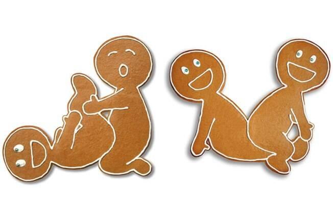 Biscoitos safadinhos testam novas posições sexuais