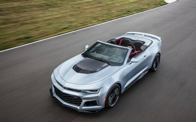 Chevrolet Camaro conversível, esportivo com tecnologia de última geração e 461 cv de potência