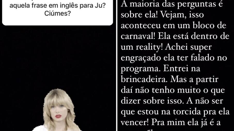 Thiago Rodrigues interage com fãs no Instagram