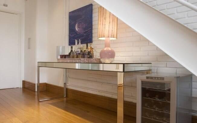 Artesanato Região Sul Do Brasil ~ Aproveite o espaço embaixo da escada Arquitetura iG