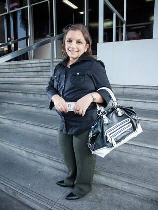 A advogada Tatiana Muniz se prepara para prestar concurso