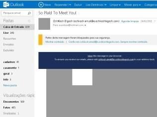 Outlook.com exagera no bloqueio de conteúdo