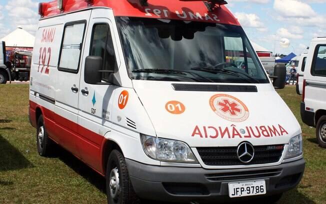 Ambulância do Samu