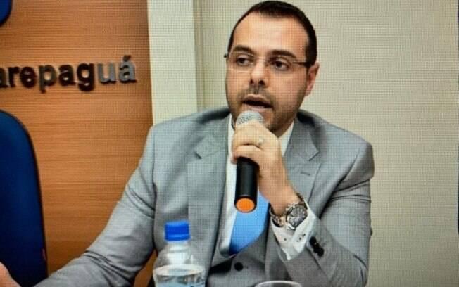Promotor Horácio Afonso da Fonseca em palestra na OAB-RJ.