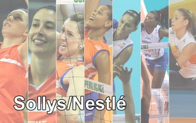 Sollys/Nestlé é o atual campeão. Veja quem é  quem na equipe de Osasco