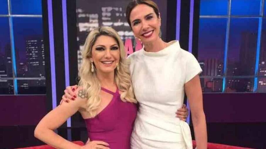 Antonia Fontenelle e Luciana Gimenez