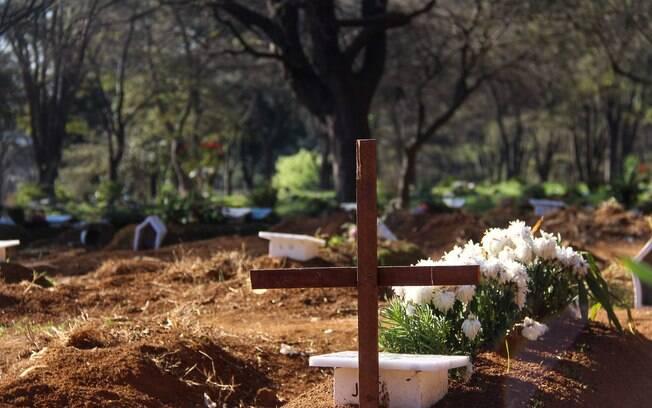 Sem velório, as cerimônias de vítimas da Covid-19 se resumem a uma breve despedida devido ao risco de contaminação