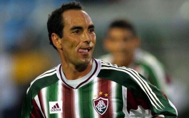 Edmundo trocou o Vasco pelo Fluminense em  2004
