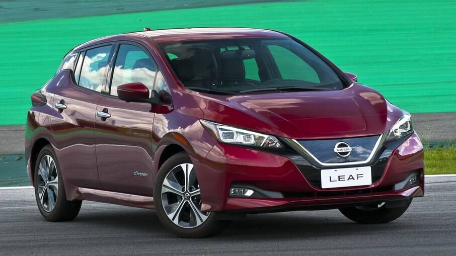 Nissan Leaf chegou a ser o carro elétrico mais vendido do Reino Unido, superando o BMW i3