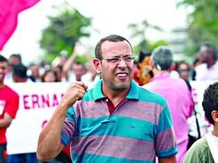 Soldado. Marco Prisco foi preso sob a justificativa da necessidade de manutenção da ordem pública