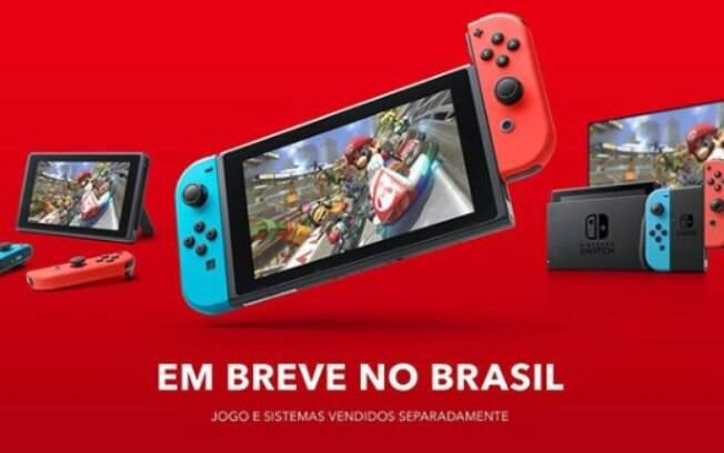 Nintendo Switch é anunciado no Brasil