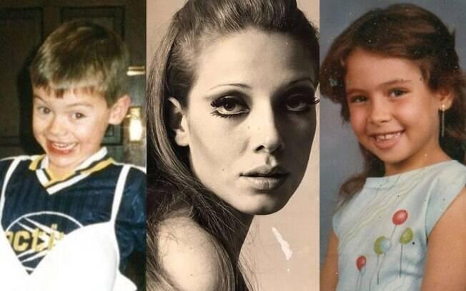 Alguns mudaram tanto que ficaram praticamente irreconhecíveis com o passar dos anos; faça o teste e veja se você reconhece os famosos na juventude