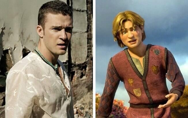 Justin Timberlake – Arthur Pendragon (Shrek Terceiro)