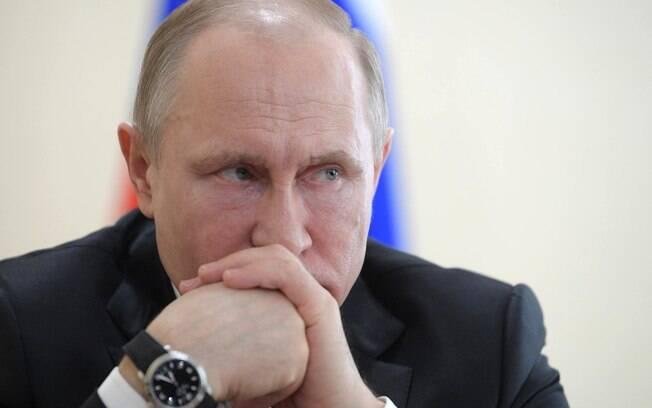 Putin criticou a maneira como Juan Guaidó diz ter chegado ao poder