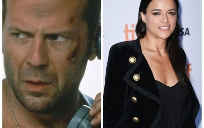 Michelle Rodriguez pode ser uma boa atriz em um rebot para