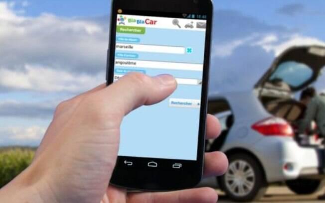 Aplicativos como o BlaBlaCar têm facilitado a vida de quem não tem carro, mas precisa se locomover