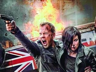 Adrenalina pura. Kiefer Sutherland e Mary Lynn Rajskub levam Jack Bauer e Chloe O'Brian para Londres, mas continuam perseguindo terroristas e fugindo do seu próprio governo