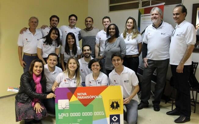 Lançamento do cartão de crédito da favela Paraisópolis