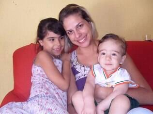 Daniele e os filhos: