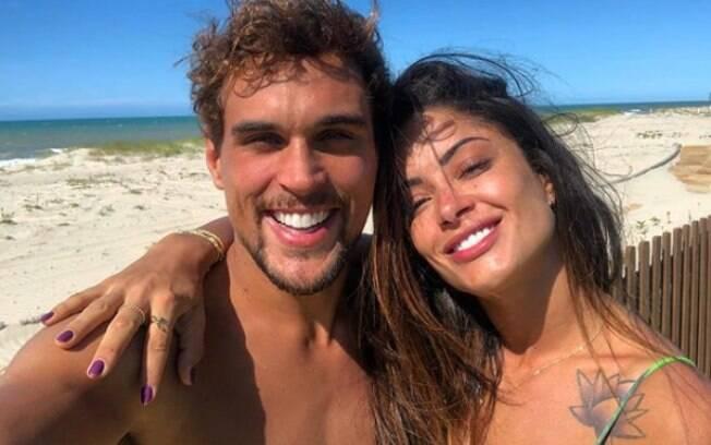 Aline Riscado e Felipe Roque