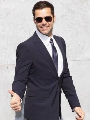Ricky Martin fará três shows no Brasil