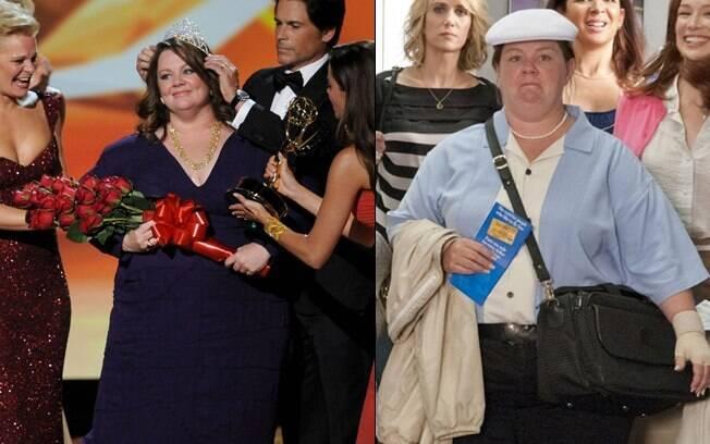 Melissa McCarthy ganhou o Globo de Ouro por sua atuação no seriado