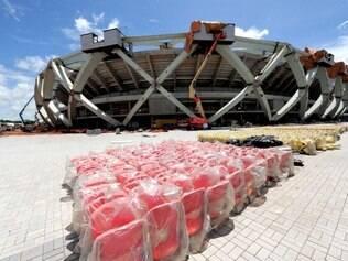 Arena Manaus adianta a obra e tem previsão de entrega para dezembro de 2014