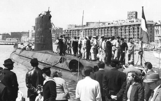 O submarino francês La Minerve foi encontrado no Mar Mediterrâneo após 50 anos de seu desaparecimento.