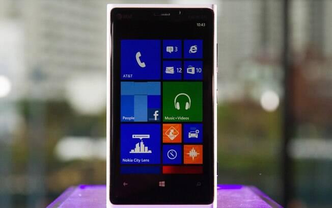 Lumia 920 é o mais sofisticado smartphone da Nokia