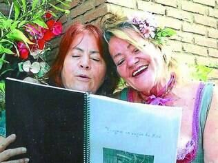 Amizade.  A escritora Celina Coelho foi amiga de Lia do Vagão por mais de dez anos