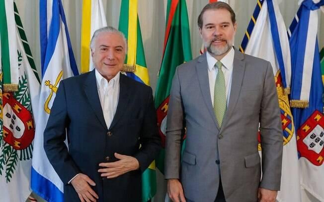 Dias Toffoli assumiu a presidência do País pela primeira vez durante viagem de Michel Temer