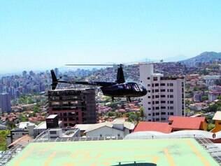 Pelos ares. Apesar do aumento de helipontos em BH, poucos proprietários usam aeronaves no dia a dia
