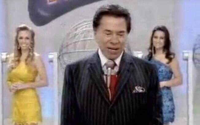 Silvio Santos diz que está cheteado com as filhas durante programa