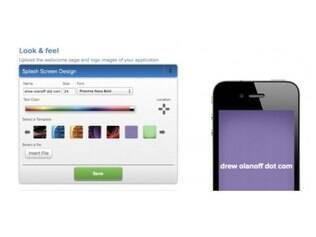 Uppsite cria aplicativos de acordo com o site