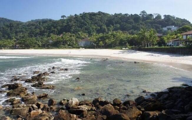 A paradisíaca praia de São Pedro