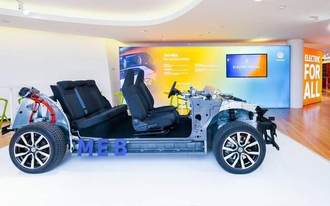 Plataforma de carros elétricos MEB da VW é algo que beneficiará a Ford, caso o acordo ocorra no Salão de Detroit 2019