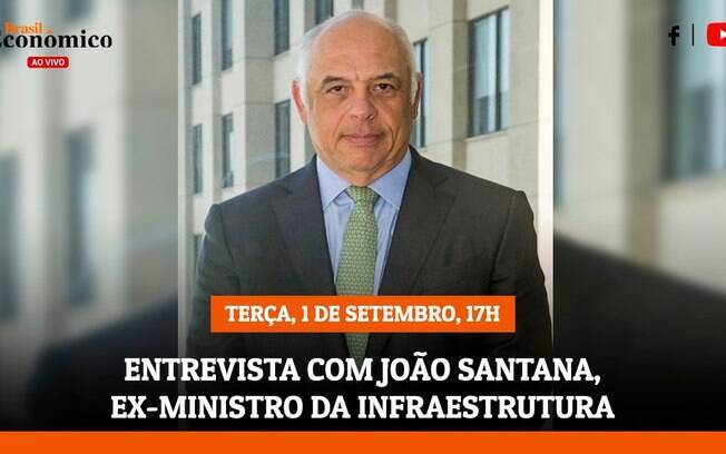 Ex-ministro da Infraestrutura João Santana é o entrevistado do iG nesta terça (1º)