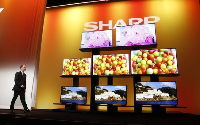 Sharp também aposta em Android TV em sua nova linha de televisores. Foto: AP